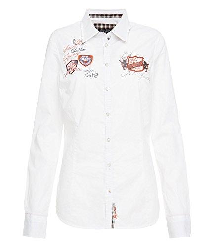 SOCCX Damen Bluse mit Artwork