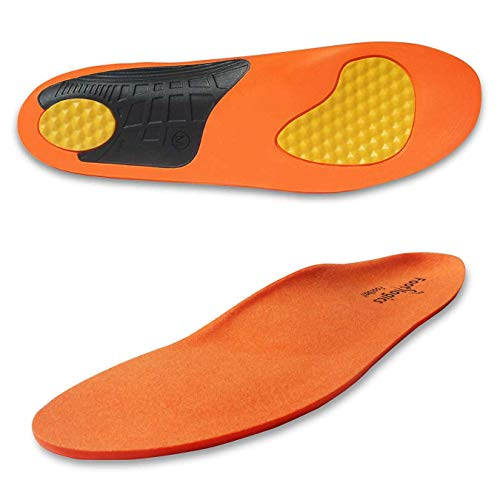 Footlogics Full-Length Athletic Orthotic Soccer Cleat Insoles