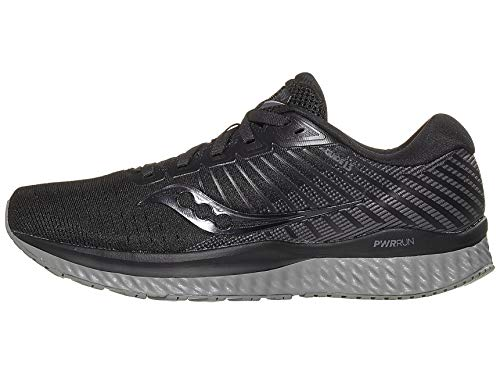 Saucony Women's S10548-35 Guide 13 Running Shoe, Blackout - 9 M