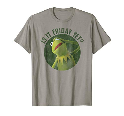 Disney The Muppet Is it Friday yet T-shirt