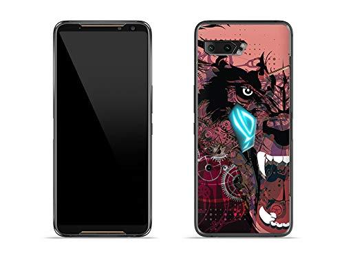 etuo Hülle für Asus ROG Phone 2 - Hülle Fantastic Hülle - Werwolf Handyhülle Schutzhülle Etui Hülle Cover Tasche für Handy