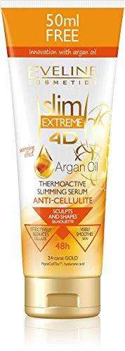 Eveline Cosmetics Slim Extreme 4D Argan Oil Thermoaktives Serum zur Modellierung und Intensivem Abnehmen