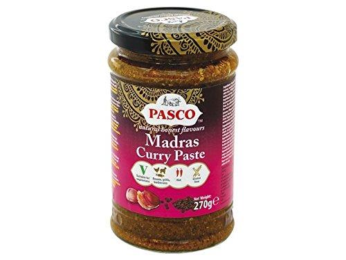 PASCO Madras Curry Paste 270g Hot & Spicy Glutenfrei