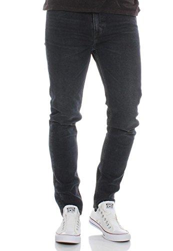 Levi Strauss nachtdienst vintage zwart 510 skinny been Jean - 06-77 36/32