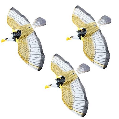 Leiasnow 動く 鳥よけ グッズ 3個入 カラス 近寄ら ず からすよけ はとよけ 鳩よけ カラス対策 鳥対策 ベランダ 鳥 とりよけ (3個セット)