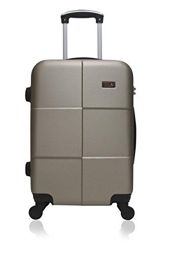 Hero Coronado koffer, 66 cm, 60 liter, beige (champagne)