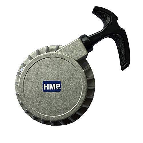 HMParts Alu Seilzugstarter für Pocket Bike Motor Seilzug grau/Silber klein