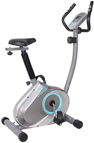 WGFGXQ Bicicleta giratoria Vertical Fitness Bike Indoor Sports Bike Home Gym Training Ejercicio aeróbico Carga 110KG Ciclos de Estudio en Interiores