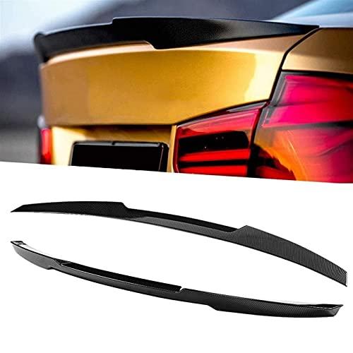 ERBV Alerón Trasero de Fibra de Carbono Color para Maletero Apto para BMW 3 Series F30 M3 F80 2013-2019 Leg Up M4 Accesorios de Coche