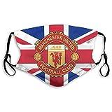 Respirador unisex Manchester United con correas ajustables