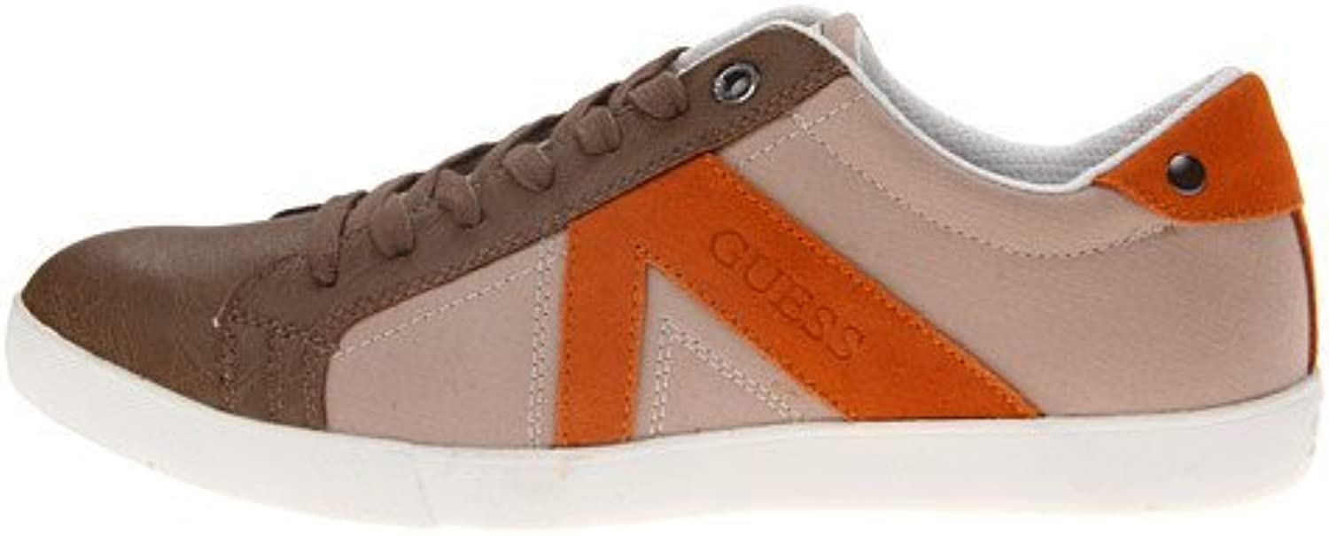 GUESS Mens Jocino Tan Cognac Sneakers