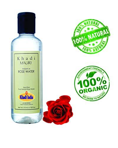 Khadi Mauri Herbal Rose Water Herbal Skin Toner Gulab Jal