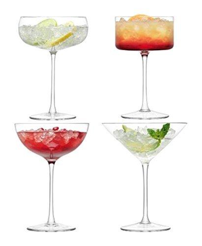 Lsa. Lulu. Bicchieri Da Champagne E Cocktail. Set 4 Assortiti