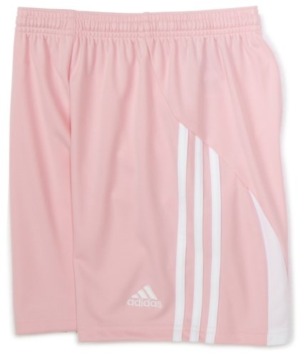 Adidas Big Girls' Elebase Short,Diva/White,X-Large