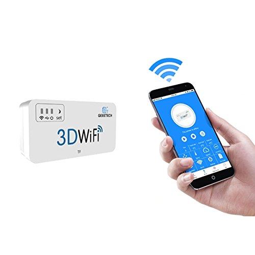 Ils - 5V DC Mini krachtige 3D Wifi-module ondersteuning TF-kaart voor afstandsbediening 3D-printer