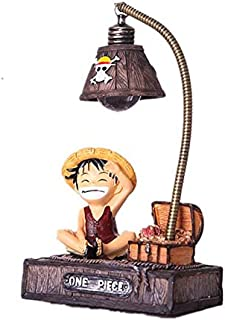 ONE PIECE Monkey Luffy Chopper Table Lamp LED Night Light Green Resin Decorative lighting great gifts