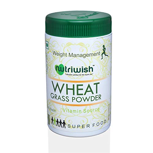 Nutriwish Wheat Grass Powder, 100g
