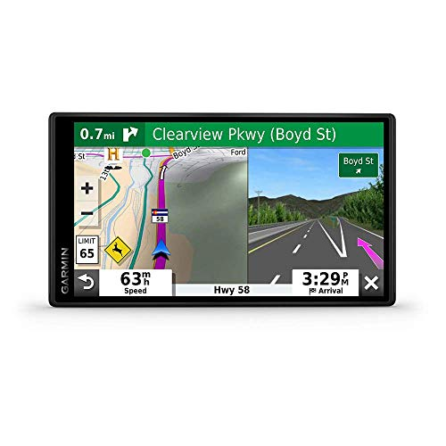 "Garmin DriveSmart 55 & Traffic: GPS Navigator with a 5.5"" Display, Hands-Free Calling, Included Traffic alerts and Information to enrich Road Trips (Renewed)"