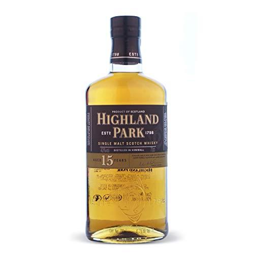 Highland Park 15 Single Malt Scotch Whisky 40% 0,7l Flasche
