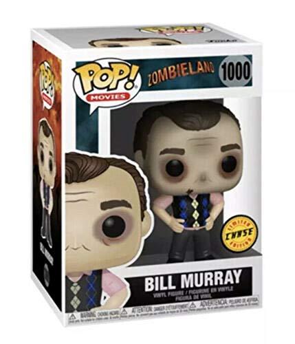 Bill Murray Chase Edition #1000 Pop Movies: Zombieland Vinyl Figure (Includes Ecotek Pop Box Protector Case)