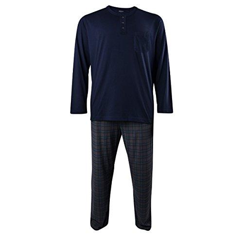 Jockey dunkelblauer Schlafanzug große Größe, XL Größe:4XL