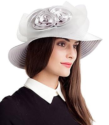 Easter Church Kentucky Derby Hat Women British Wedding Tea Party Hats
