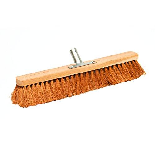 Horse Hair Brush Head Metal Bracket 50 Cm x 24 Mm 3509112 Broom Back Woods New