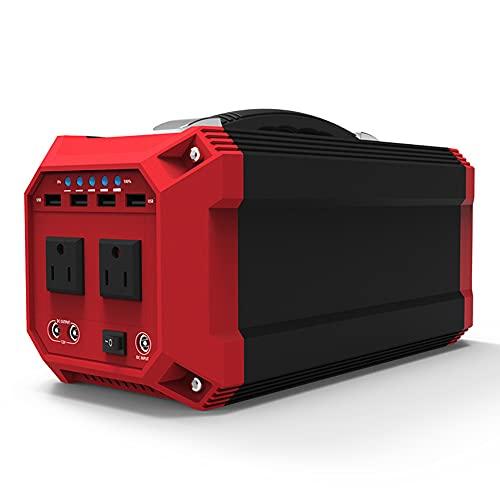 QCBC Central Eléctrica Portátil 110v 220v Ac Banco De Energía Generador Solar Ups Carga De Batería Para Cámaras Digitales Tabletas 270wh / 73000mah