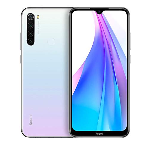 Xiaomi Redmi Note 8T 128GB Handy, weiß, Moonlight White, Android 9.0 (Pie), Dual