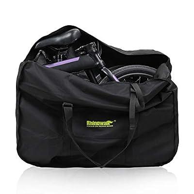 Huntvp Folding Bike Bag Bike Travel Bag Case Box Thick Bicycle Folding Carry Bag Pouch,Bike Transport Case for Air Travel