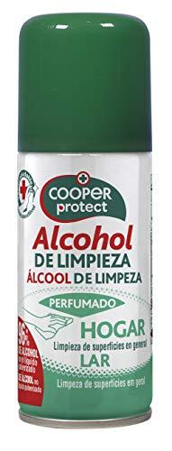 Cooper Protect | Aerosol | Alcohol de Limpieza |Perfumado |96% de Alcohol| Limpieza de Superficies| Contenido: 100 ml 120 g