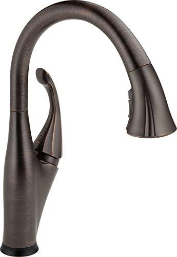 Delta Faucet Venetian Bronze 9192T-RB-DST Addison Single-Handle Touch Kitchen Faucet