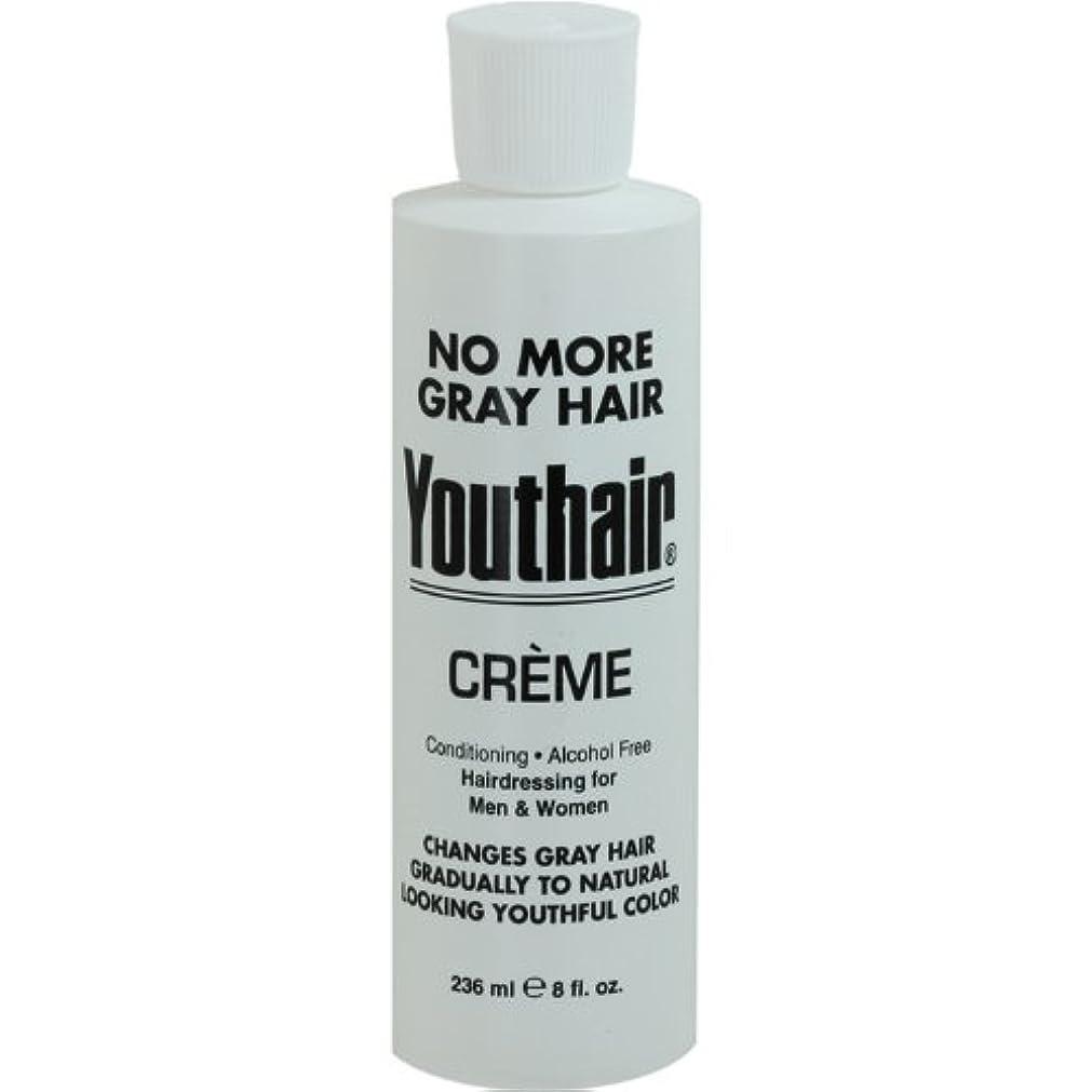 普及パイントブルジョンYouthair Creme, Round Bottle, 8 Ounce by Youthair