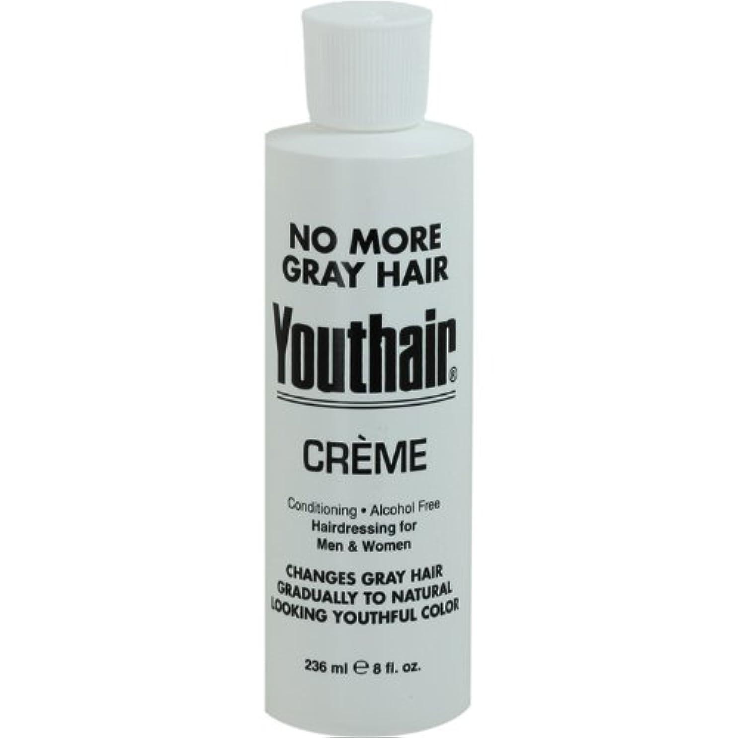 バイオリニスト減るペルソナYouthair Creme, Round Bottle, 8 Ounce by Youthair