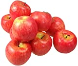 Decorative Artificial Fruit Artificial Vegetables Artificial Fruit Vegetable Decoration Apple Red Pack of 10 Light Quality