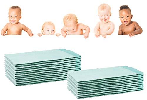250 cambiadores desechables de Wickel para bebé, 60 x 90, absorbentes