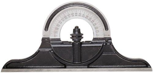 Starrett CPR-1224S Winkelmesserkopf aus Gusseisen, wendbar, für Kombinationsquare, Kombinationssets und Winkelmesser