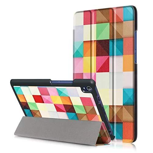 Mincol-us case for Lenovo Tab3 8' Plus/P8 (TB-8703F),Smart Sleep Function, Adjustable Angle, Side flip, Super Magnetic, Suitable for Lenovo Tab3 8' Plus/P8 (TB-8703F).-Magic Cube