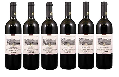 Lagrein Südtirol - St. Magdalena Gries Trentino DOP Italien - Rotwein trocken [ 6 Flaschen x 750ml ] ]