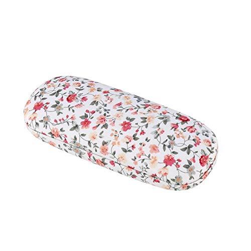 Shoplice Estuche para Gafas - Protable Floral Gafas de Sol Estuche Protector para Gafas Bolsas Estuche rígido