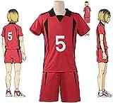 Nekoma High School Kozume Kenma Kuroo Tetsurou Cosplay Disfraz de voleibol Uniforme s-Small,B