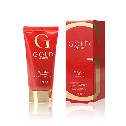 GOLD SERUMS BB Crème SPF30 Light 30 ml