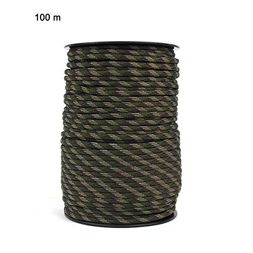 HHOOMY 30m Paracord 550 Cord/ón de paraca/ídas 7 Strand Cuerda de Nailon 100/% 249 kg de Fuerza de Rotura