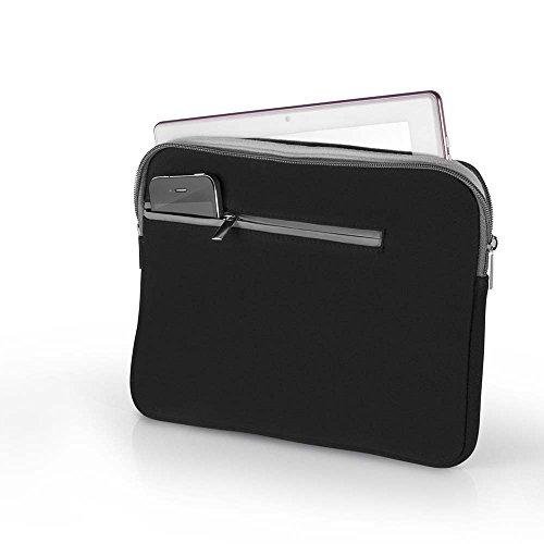 Multilaser BO400 - Case Neoprene Para Notebook Até 15,6 Pol. Preto E Cinza