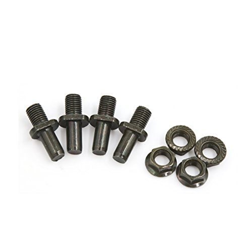 uxcell 4Pcs Dark Green Metal Motorcycle Rear Driven Sprocket Screw Bolts for CG125