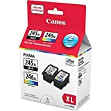 Canon PG-245XL/CL-246XL Original Black & Colour Ink Cartridges, Combo
