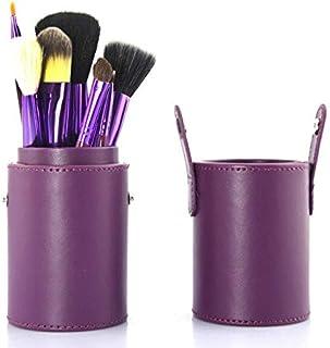 Eye Shadow Applicator - 12 PCS purple Makeup Brushes Professional Cosmetic Set wood hand to Make Up Brush Eyeshadow Brush ...