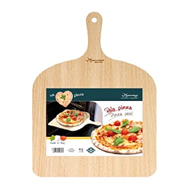 Eppicotispai 2048  Birchwood Pizza Peel, 16 by 12-Inch