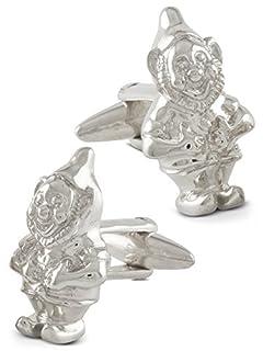 Gnome Cufflinks Seven Sterling Silver