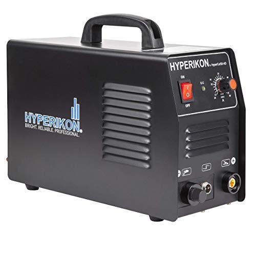 Hyperikon Plasma Cutter 10 45 Amp, Dual Voltage 120V 240V, PT 31 LG40 Cutting Torch, 1/2 Inch Clean Cut